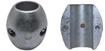"""Picture of X-2 Zimar Shaft Zinc Anode 7/8"""" diameter"""