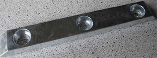 Picture of K-15HD Zimar Bolt On Drilled Plate Zinc Anode