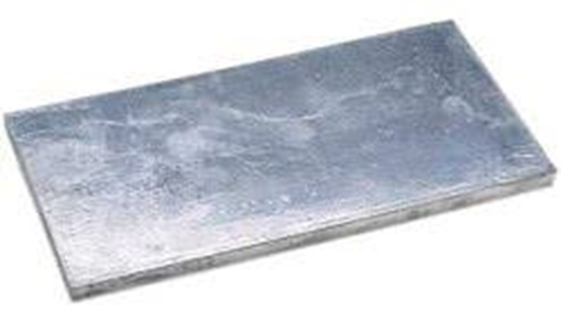 Picture of A-3X12 Zimar Bolt On Undrilled Plate Zinc Anode