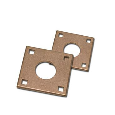 Picture for category Square Flange Bronze Rudder Port Backing Plates