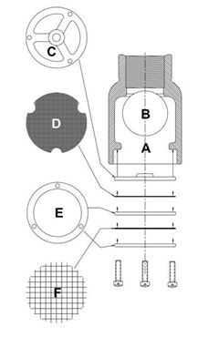 Picture for category Standard Components for Inverted Vent Check Valves
