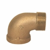 Picture of 00103250 90 degree Bronze Street Elbows