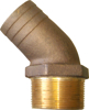 Picture of 00HN25045E 45 degree Bronze Pipe to Hose Adapters