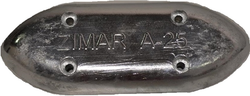 Picture of A-25 Zimar Bolt On Drilled Plate Zinc Anode